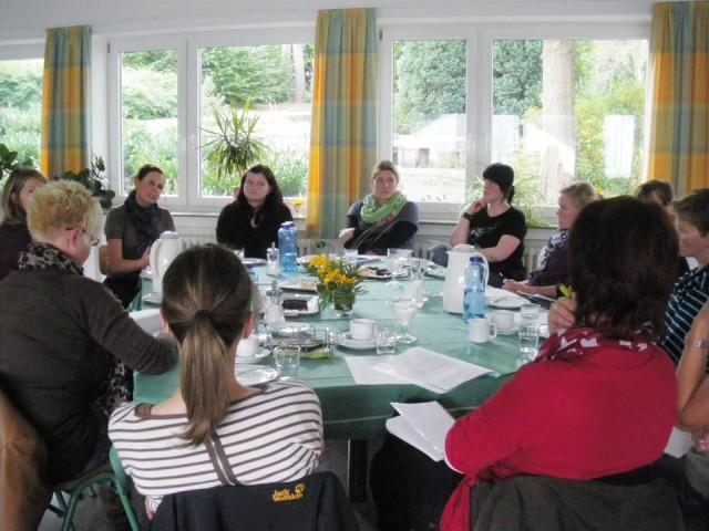 Anleitertreffen der Konderpflege Oberstufe (Foto: BKBB/AM)