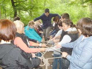 Erlebnispädagogisches Projekt der SPO (Bild: BKBB)